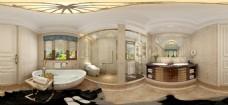 室内设计全景效果图