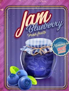 蓝莓水果浆