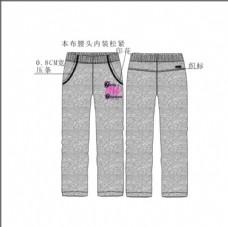 服装设计 矢量图