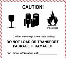电池空运标