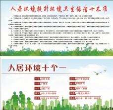 环境卫生  展板背景
