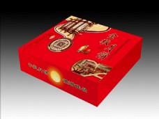 月饼包装 月饼盒 (平面图)