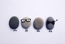 有趣的石头 鹅卵石