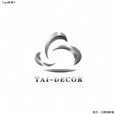 不锈钢质感logo设计