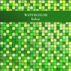 抽象绿色几何背景