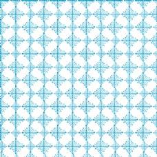 蓝色碎花无缝图案