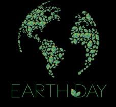 世界地球日广告背景