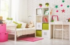 可爱温馨室内设计儿童房设计