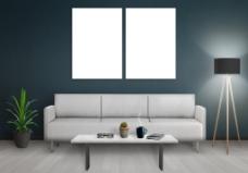 极简主义室内效果图图片