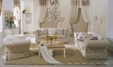 現代美式客廳裝修效果圖