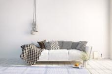 白色简约室内风格装潢设计