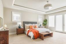 温馨简约时尚风格卧室设计