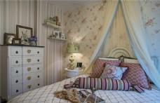 簡約美式臥室裝修效果圖