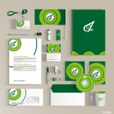 生物绿色环保办公LOGO设计