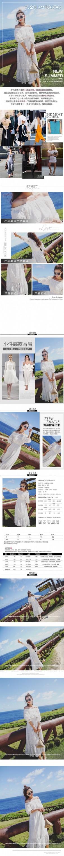 淘宝天猫夏季连衣裙女装详情通用模板PSD