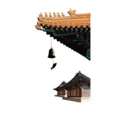 中国式房屋建筑png透明元素