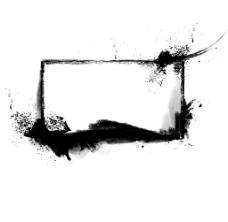 涂鸦边框矢量复古相框png元素