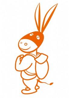 小毛驴旅游卡通形象