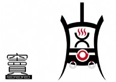 私房菜火锅logo