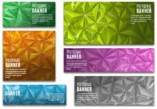 几何创意BANNER背景素材