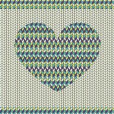 浪漫的织物图案