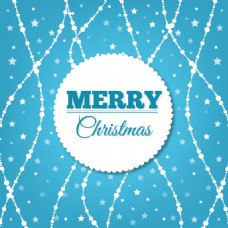 带徽章的圣诞背景