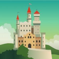 童话般的城堡