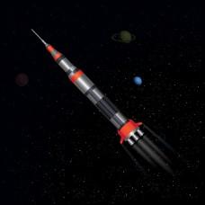 火箭在太空
