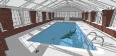 室内泳池效果图
