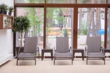 现代简约阳台室内效果图