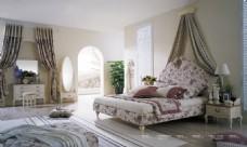現代中式臥室裝修效果圖