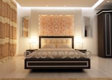 奢华气派风格卧室设计