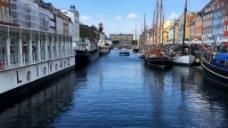 欧洲水上城市景观