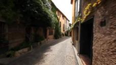 古镇街道风景视频拍摄