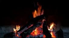 柴火篝火设计视频