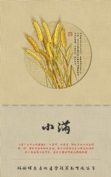 小满中国风企业宣传海报