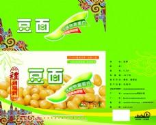 豆面食品包装设计