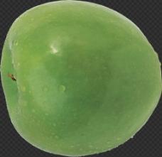 水灵的青苹果图片免抠png透明图层素材
