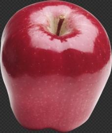 真实红蛇果苹果图片免抠png透明图层素材