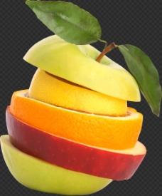 漂亮创意苹果图片免抠png透明图层素材