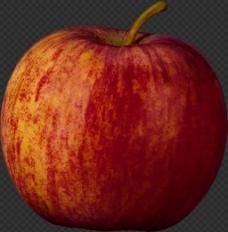 红富士大苹果图片免抠png透明图层素材