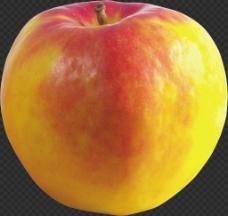 彩色苹果图片免抠png透明图层素材
