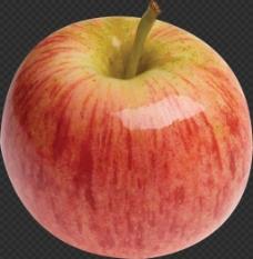 漂亮红富士苹果图片免抠png透明图层素材