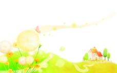 艺术经典简约花纹插画