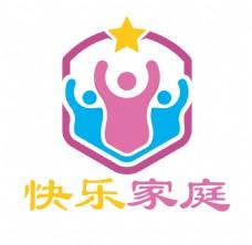 快乐家庭logo设计