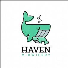 鲸鱼logo