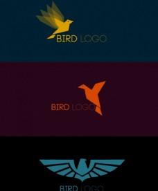 鸟图标标志设计