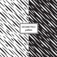 抽象黑白几何背景