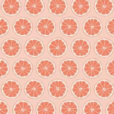 卡通手绘橙子矢量素材