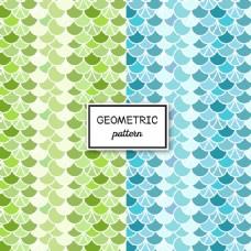 抽象双色几何背景